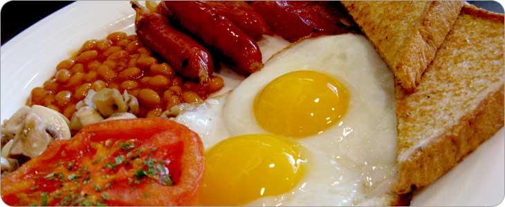 อาหารเช้าของแบบอังกฤษ