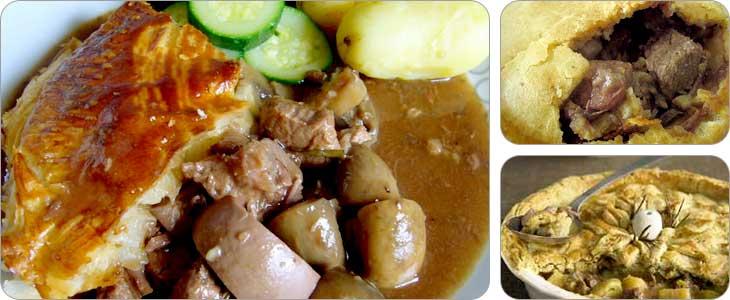 พายสเต๊กและไต ( Steak and Kidney Pie )