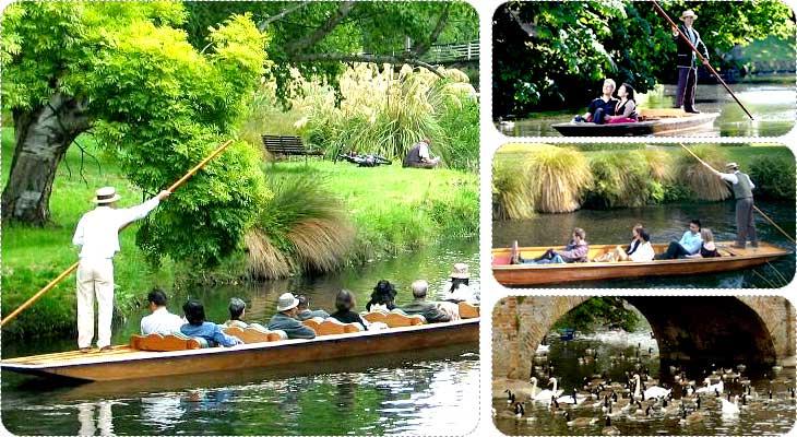 นั่งเรือในแม่น้ำเอวอน ( avon