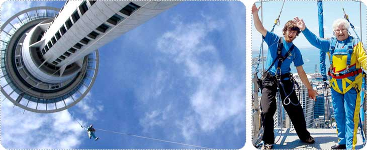 Sky Tower Sky Jump
