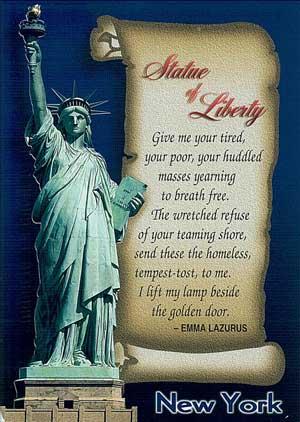 อนุสาวรีย์เทพีเสรีภาพ (Statue of Liberty )