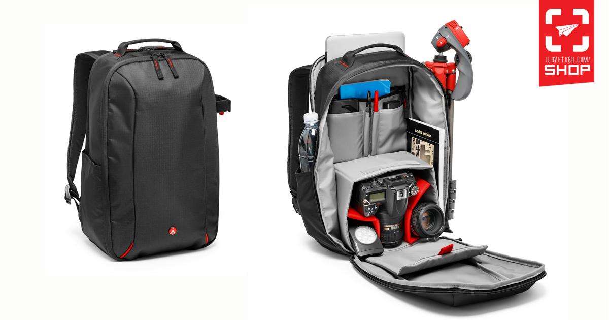 กระเป๋ากล้อง Manfrotto Essential Camera and Laptop Backpack (ใส่ ... 0924f38d9ebe8